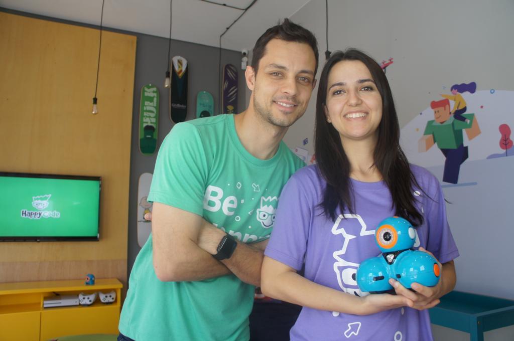 Daniel Rosado e Silvia Becker da Silva
