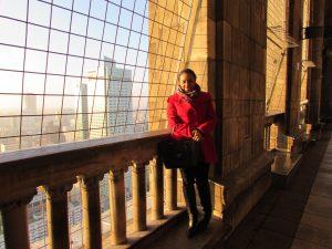 Vista do Palácio da Cultura e Ciência