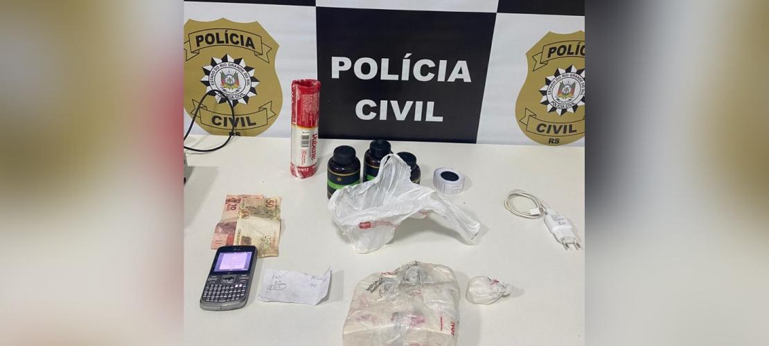 Polícia apreende adolescente por tráfico de drogas pela terceira vez