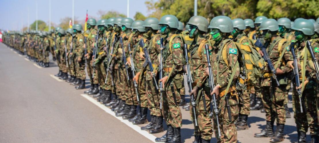 1 - 2° maior contingente militar do BRASIL