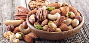 Alimentos que ajudam a controlar o colesterol: Oleaginosas