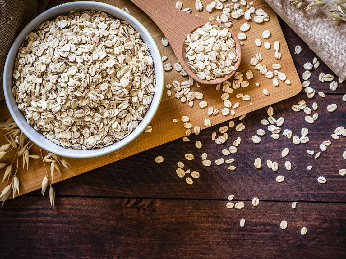 Alimentos que ajudam a controlar o colesterol: Aveia
